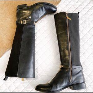 Michael Kors Black Tall Riding Boots